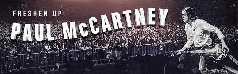 CONCERT : Paul McCartney en concert à Paris La Défense Arena le 28 Novembre 2018